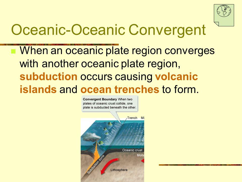 Oceanic-Oceanic Convergent