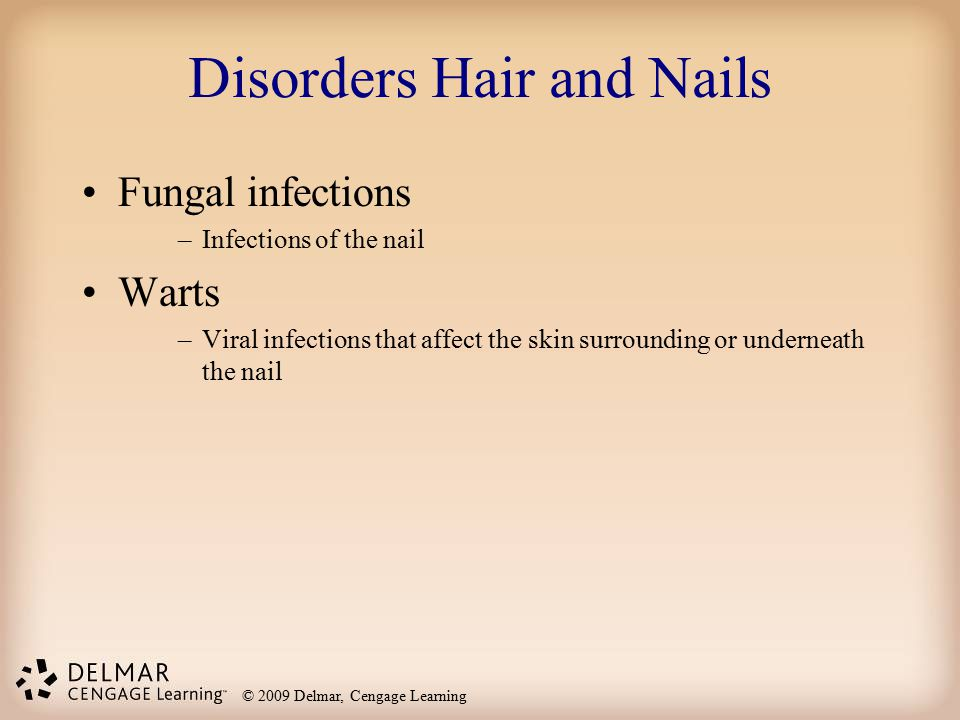 Disorders Hair and Nails