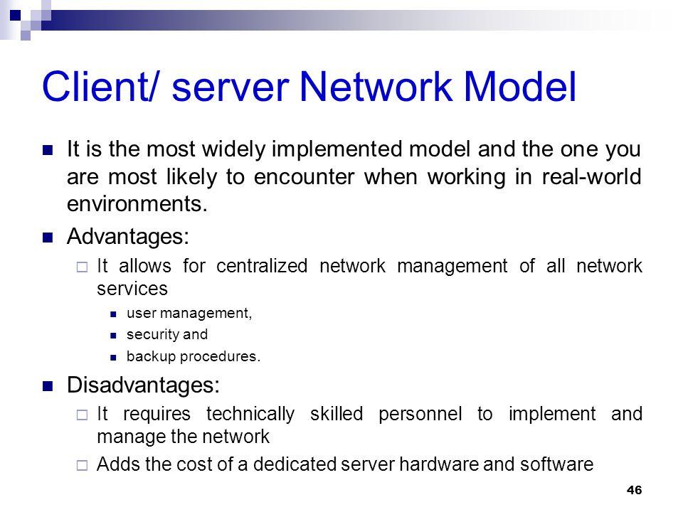 Client/ server Network Model