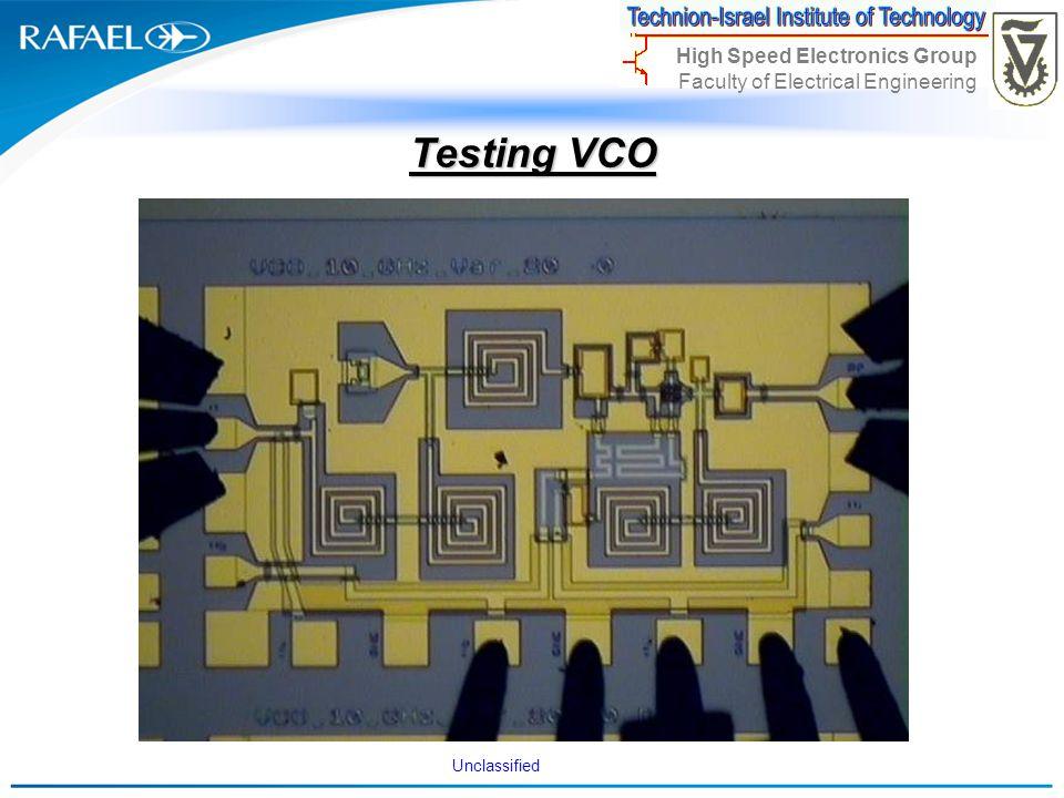 Testing VCO