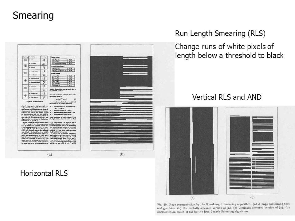 Smearing Run Length Smearing (RLS)