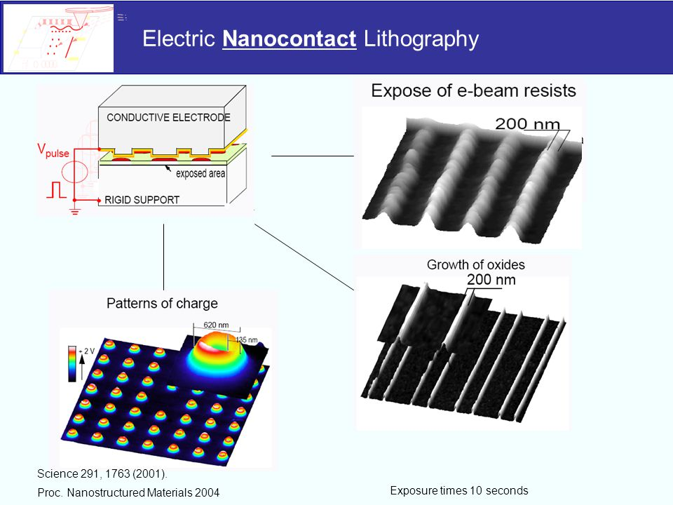 Electric Nanocontact Lithography