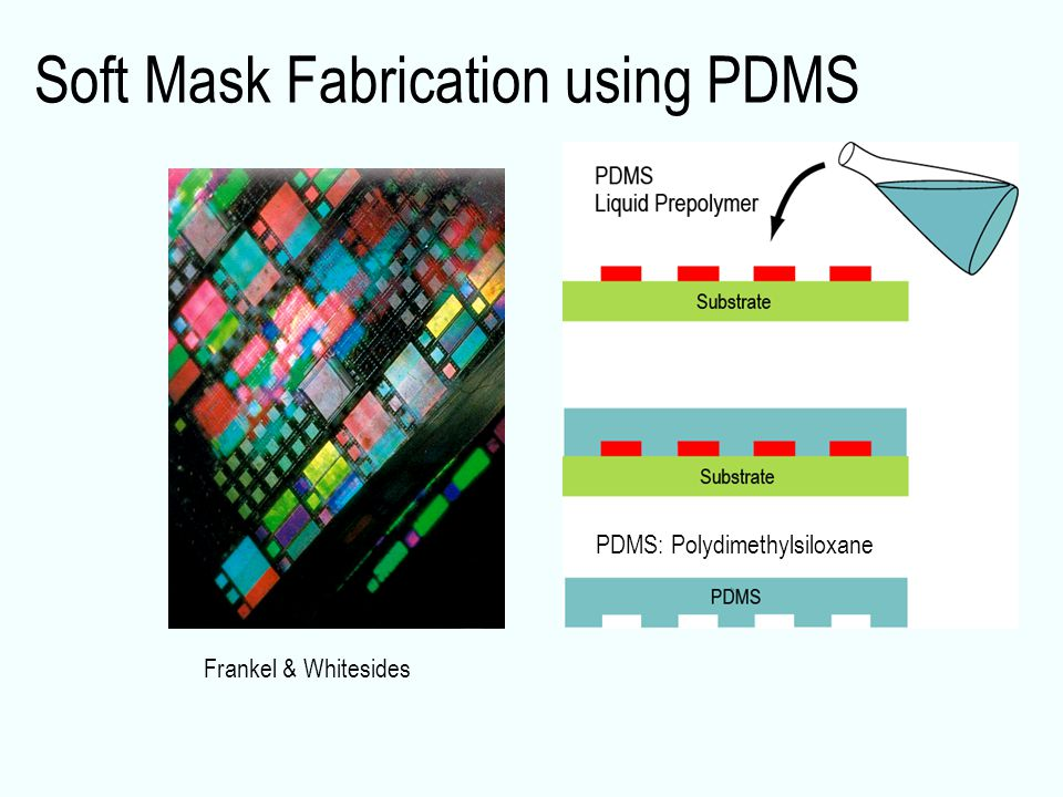 Soft Mask Fabrication using PDMS