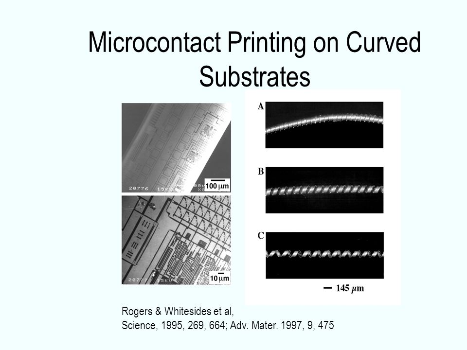 Microcontact Printing on Curved Substrates