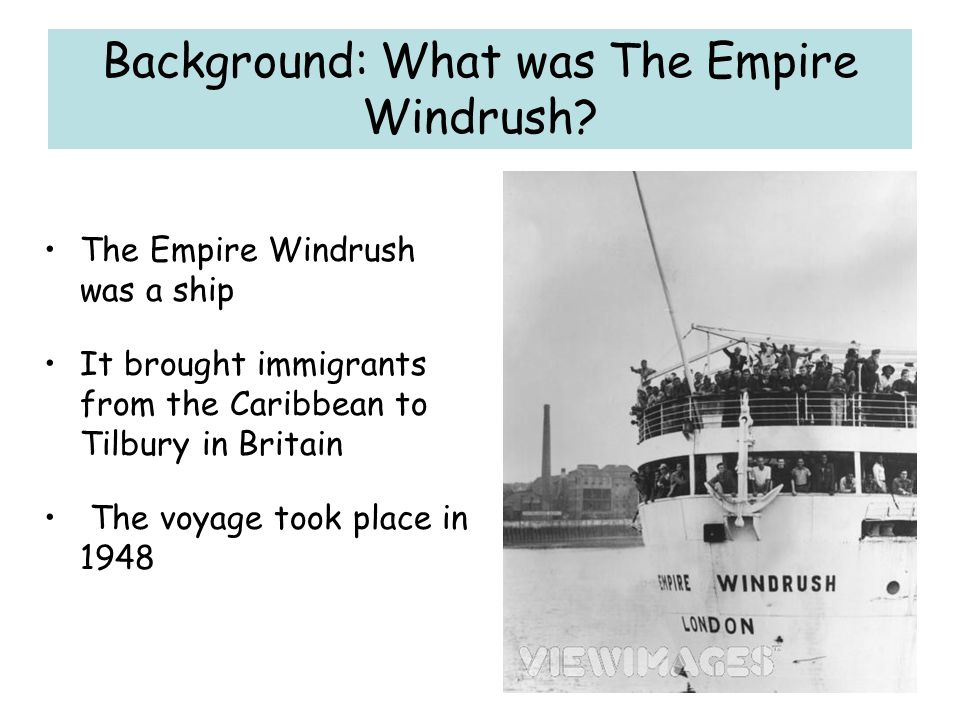 Background: What was The Empire Windrush