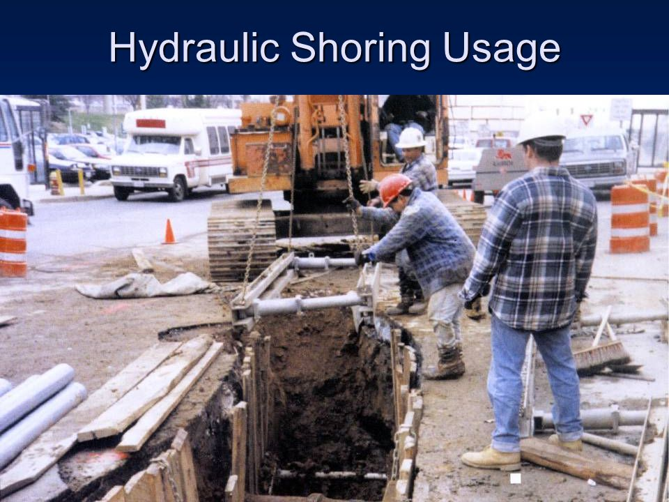 Hydraulic Shoring Usage