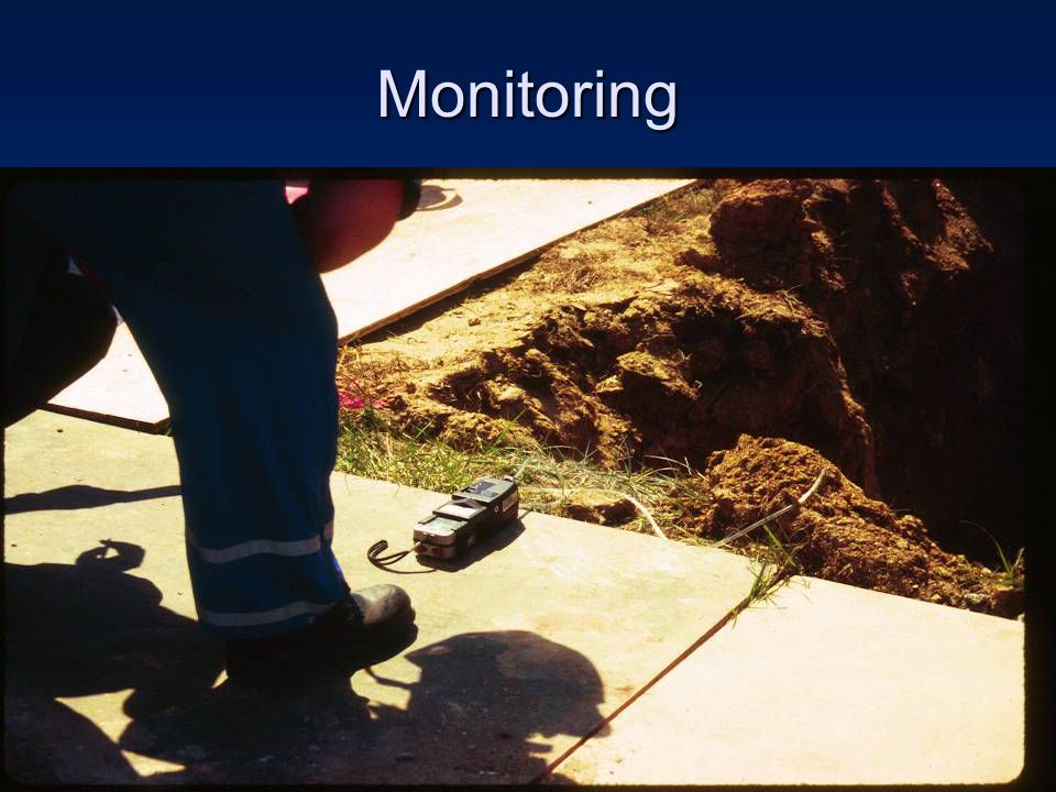 Monitoring Monitoring for hazardous atmospheres