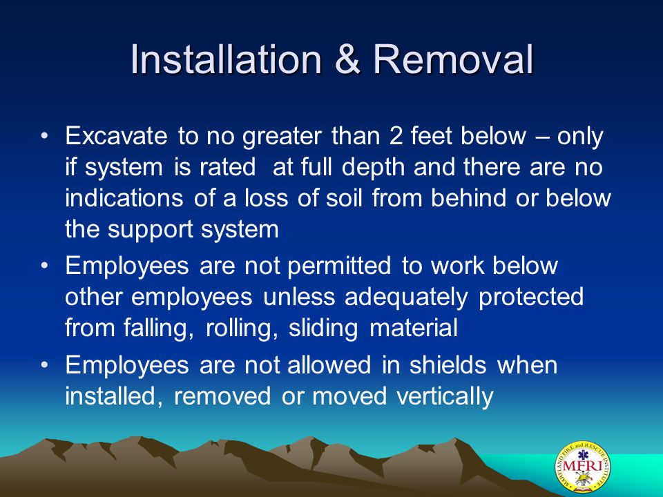Installation & Removal