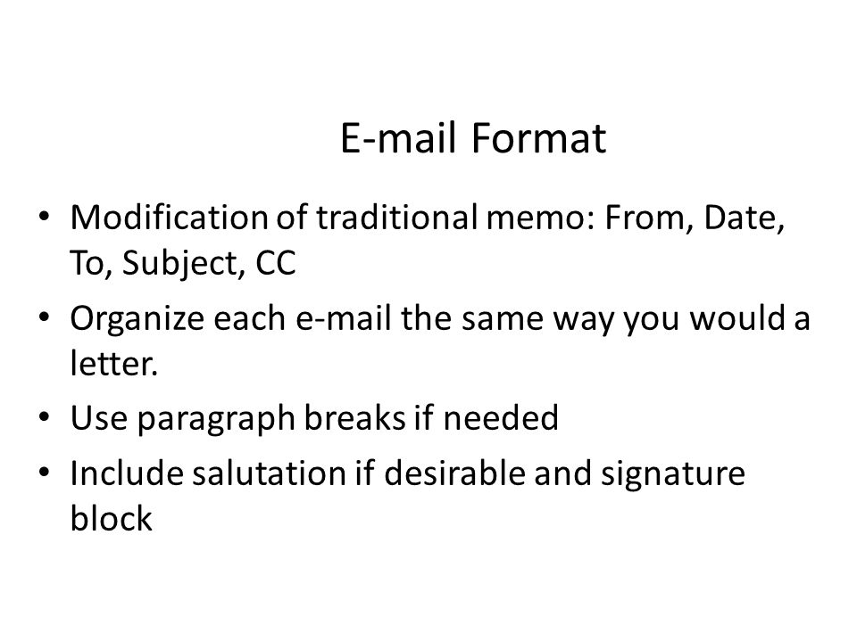 e mails and traditional letters Get an answer for 'what are the advantages of using email over a traditional business letter' and find homework help for other business questions at enotes.