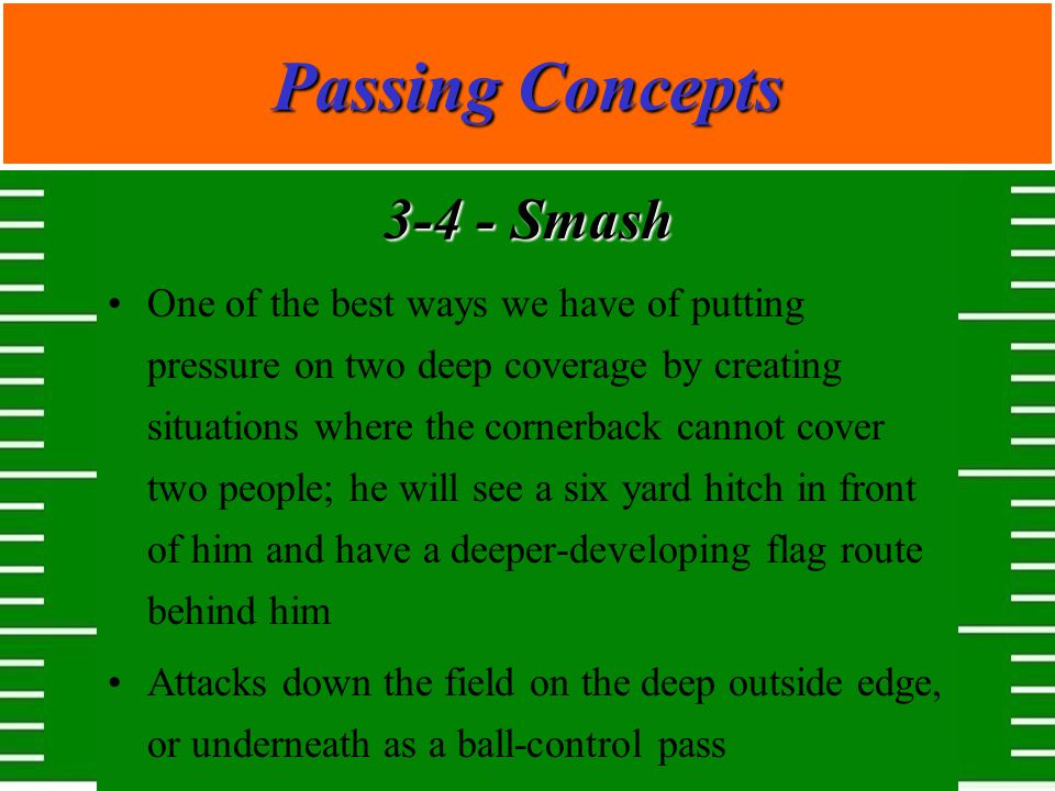 Passing Concepts 3-4 - Smash