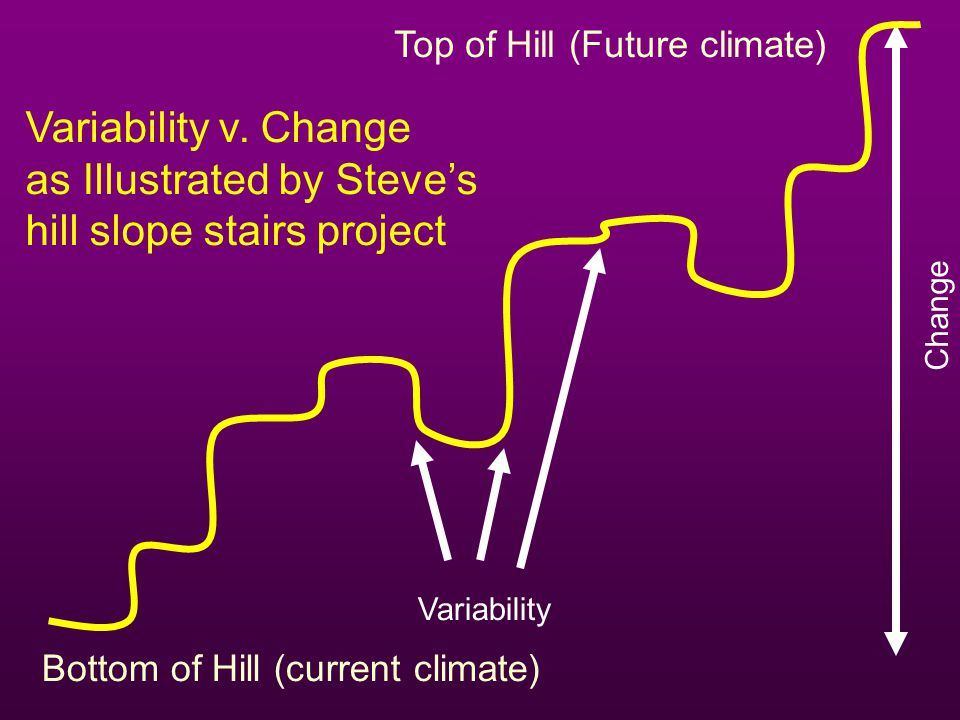 as Illustrated by Steve's hill slope stairs project