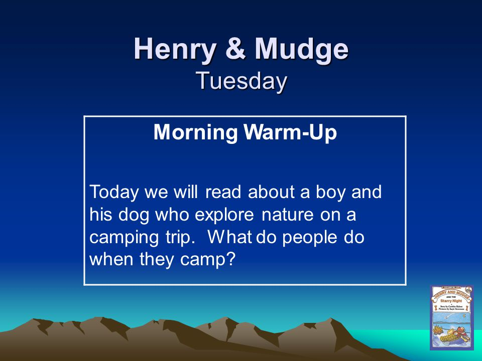 Henry & Mudge Tuesday Morning Warm-Up