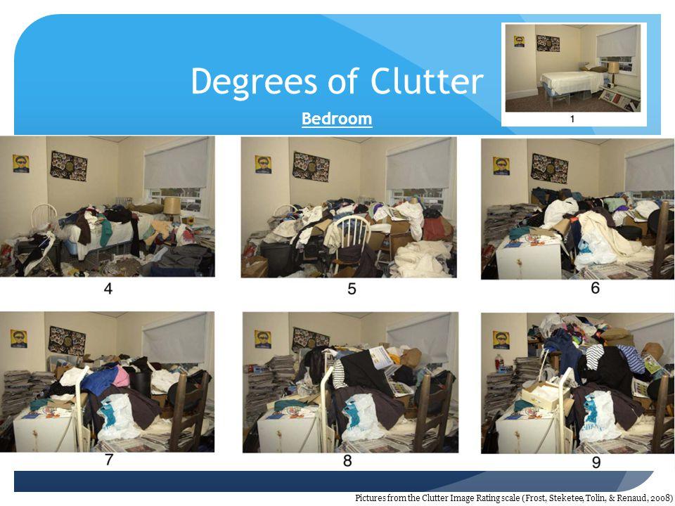 Degrees of Clutter Bedroom