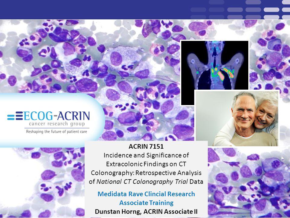 Dunstan Horng, ACRIN Associate II