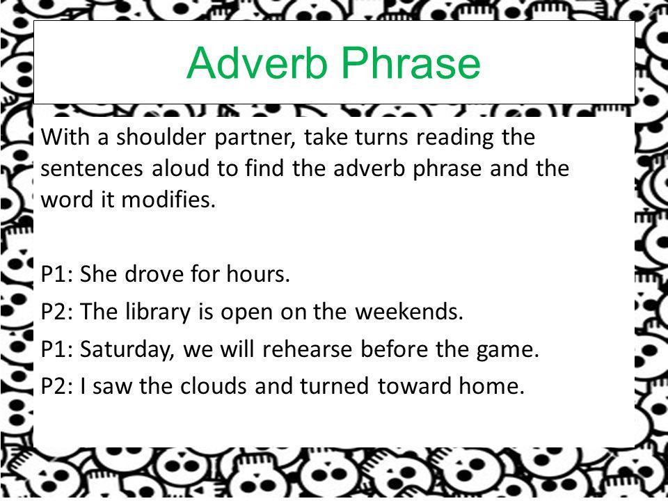 Adverb Phrase