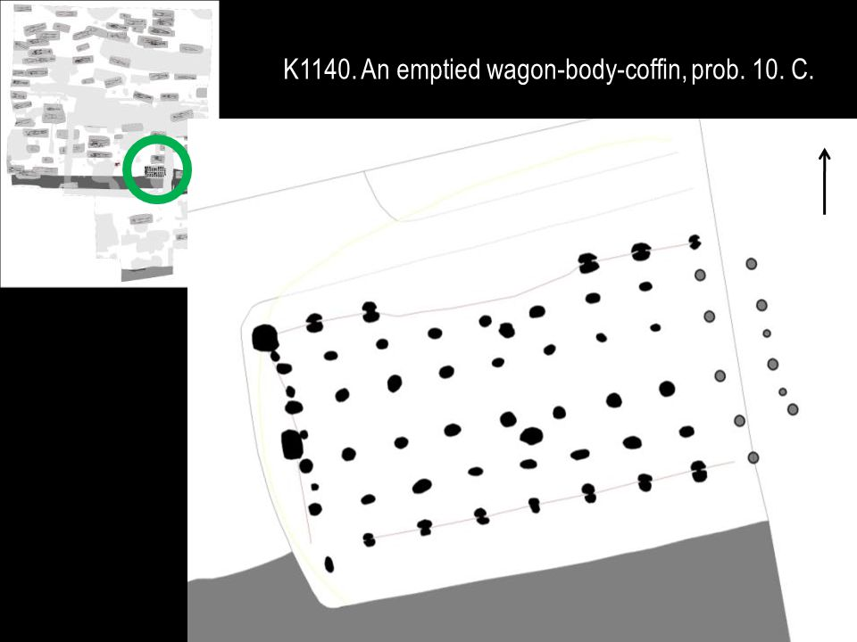 K1140. An emptied wagon-body-coffin, prob. 10. C.
