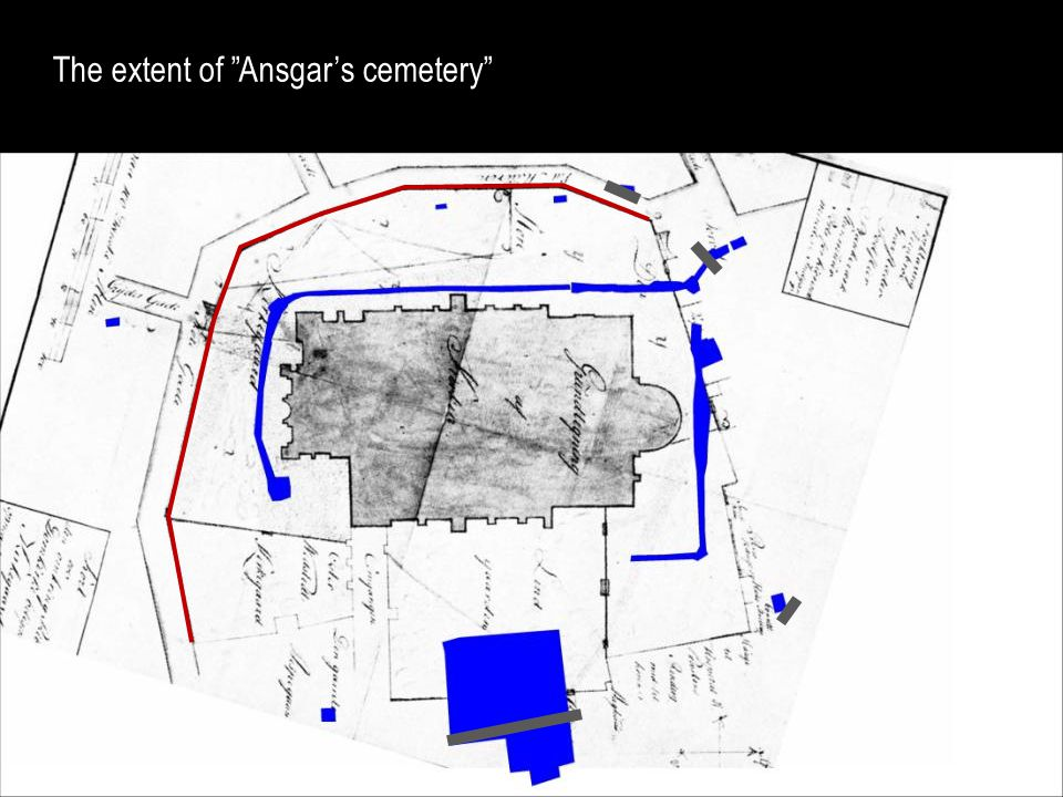 The extent of Ansgar's cemetery