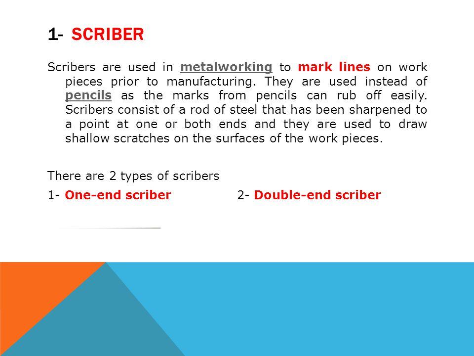 1- Scriber