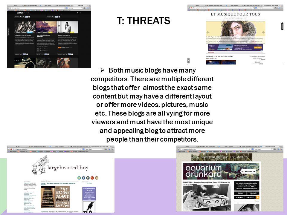 T: Threats