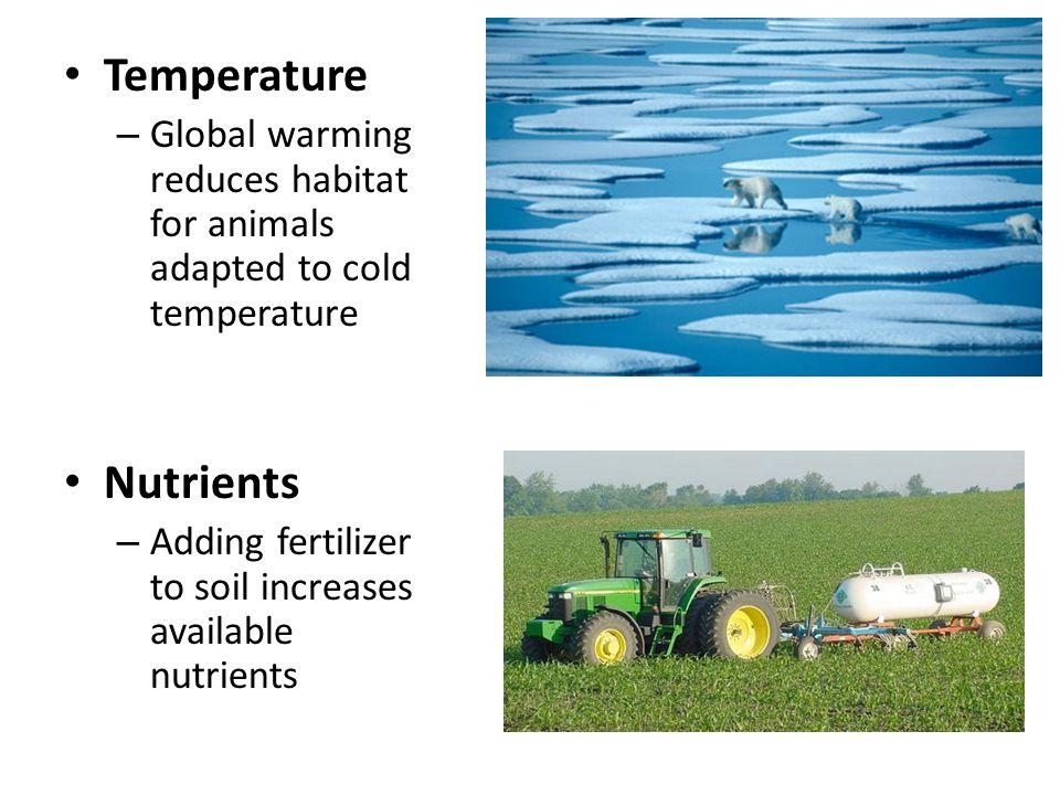 Temperature Nutrients