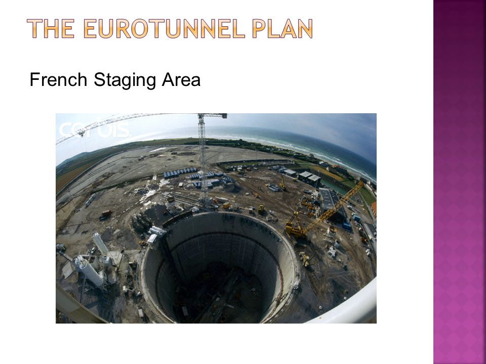 The Eurotunnel Plan French Staging Area