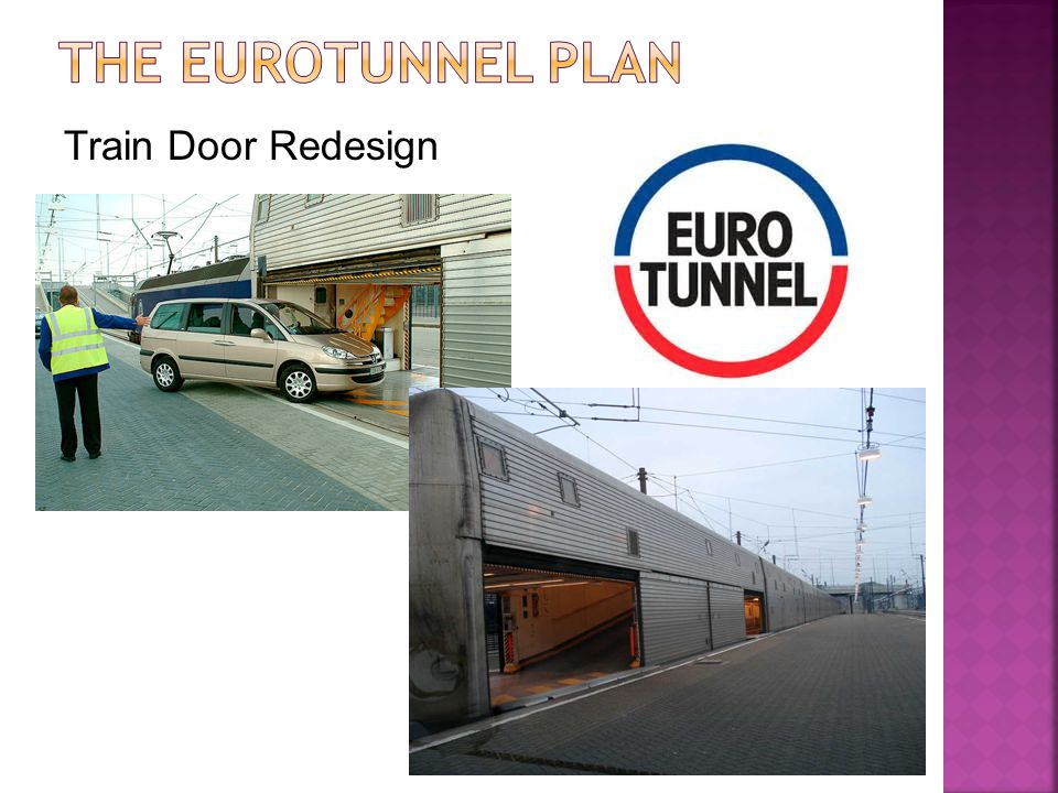 The Eurotunnel Plan Train Door Redesign