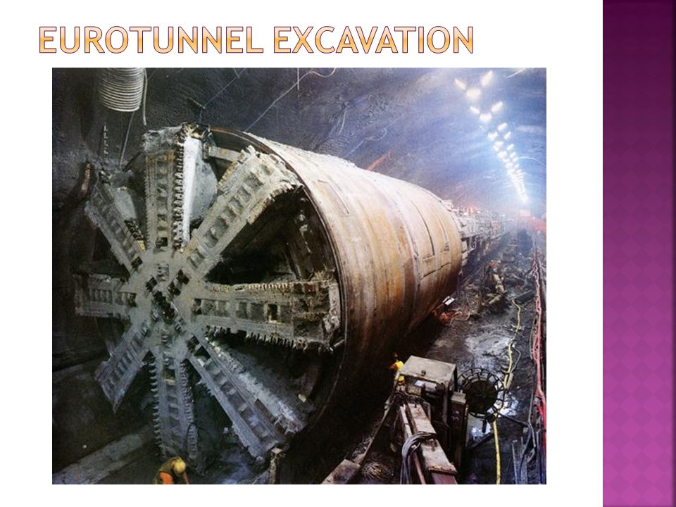 Eurotunnel Excavation
