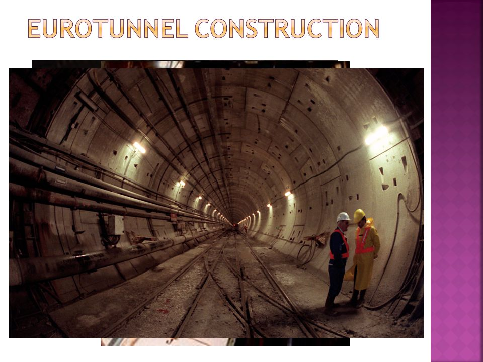Eurotunnel Construction