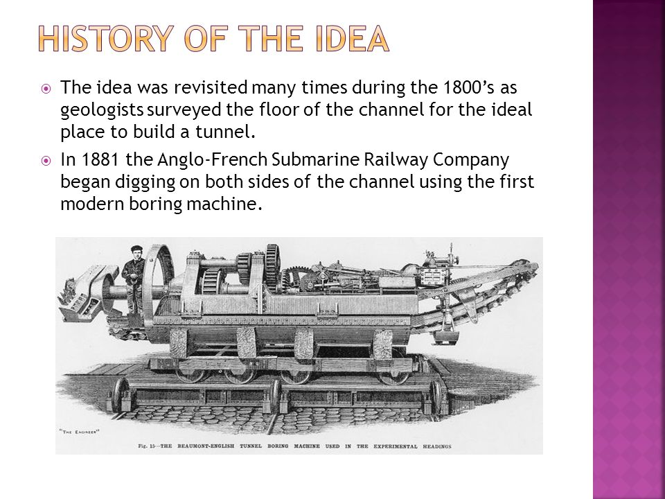 History of the idea