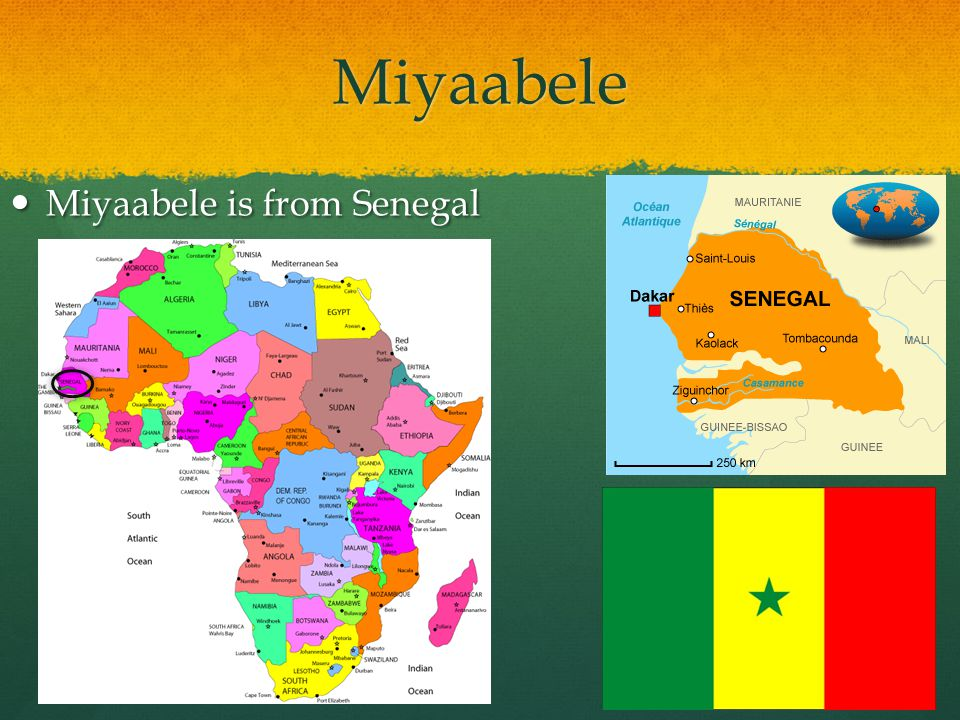 Miyaabele Miyaabele is from Senegal