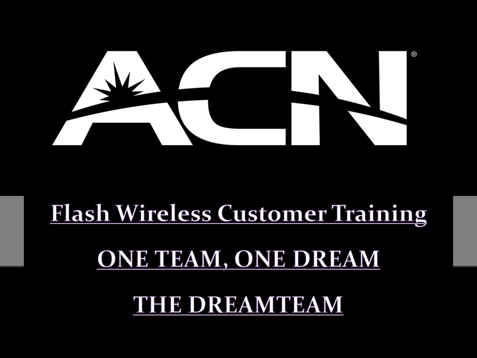 Flash Wireless Customer Training