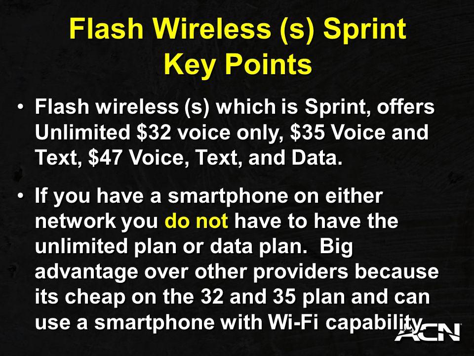 Flash Wireless (s) Sprint