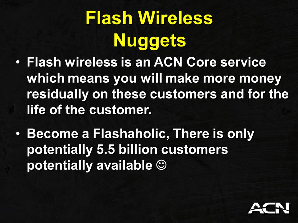 Flash Wireless Nuggets
