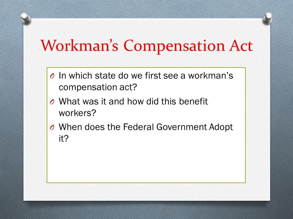 Workman's Compensation Act
