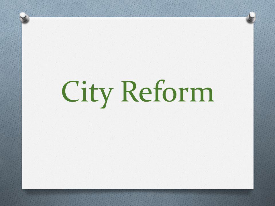 City Reform