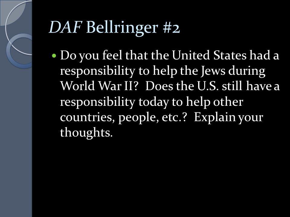 DAF Bellringer #2