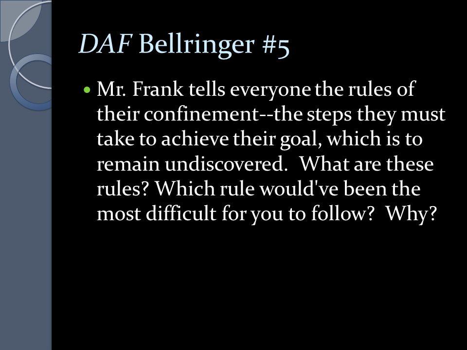 DAF Bellringer #5