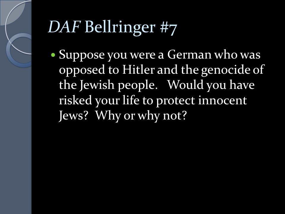 DAF Bellringer #7