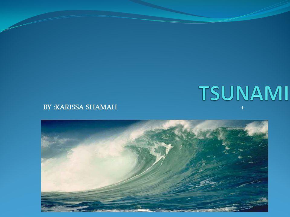 TSUNAMI BY :KARISSA SHAMAH +