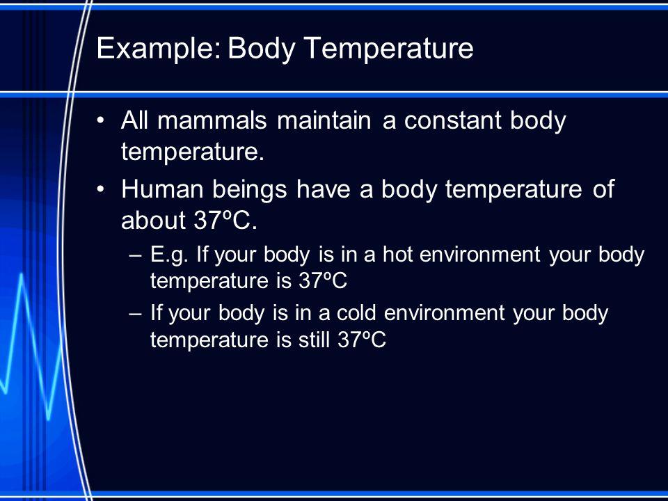Example: Body Temperature