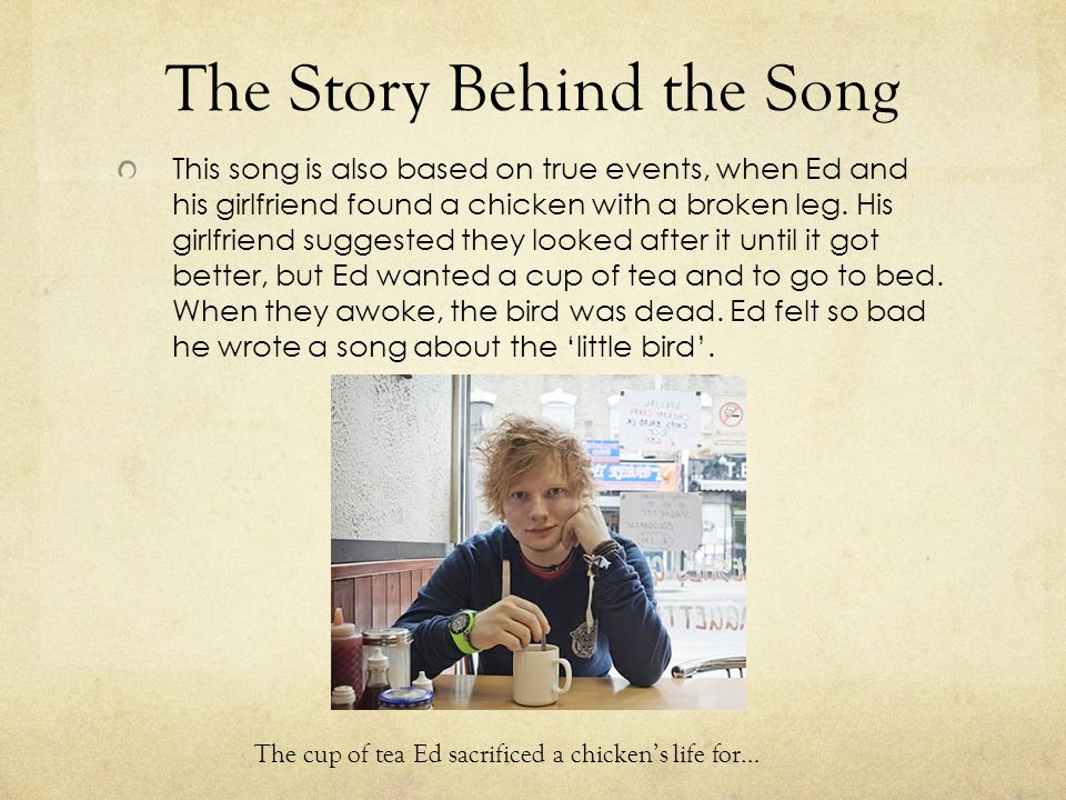 The Story Behind the Song