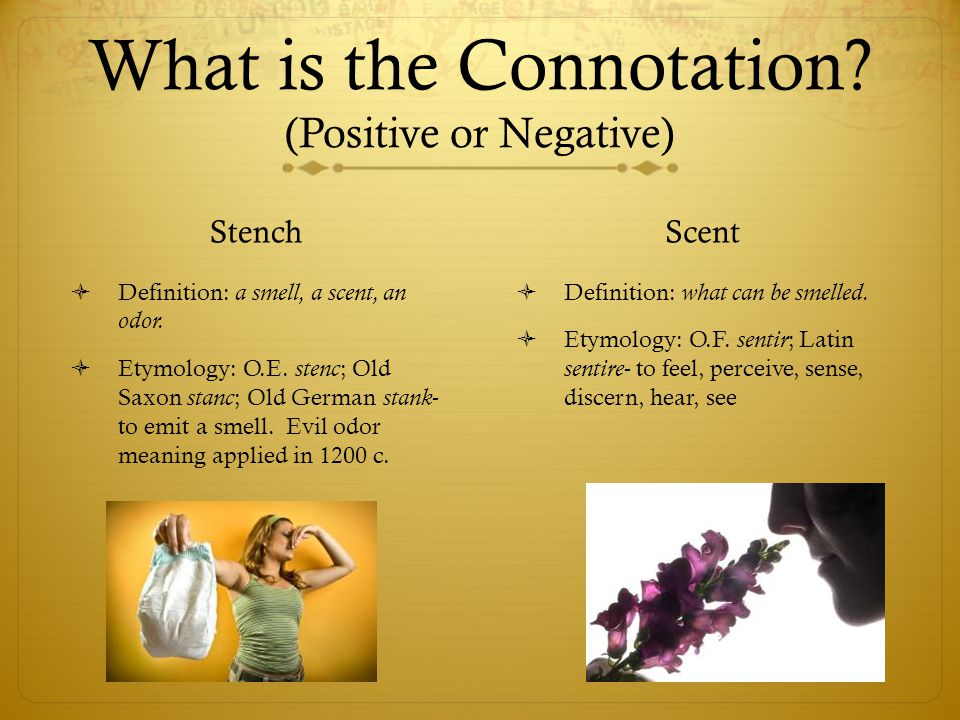 What is the Connotation (Positive or Negative)