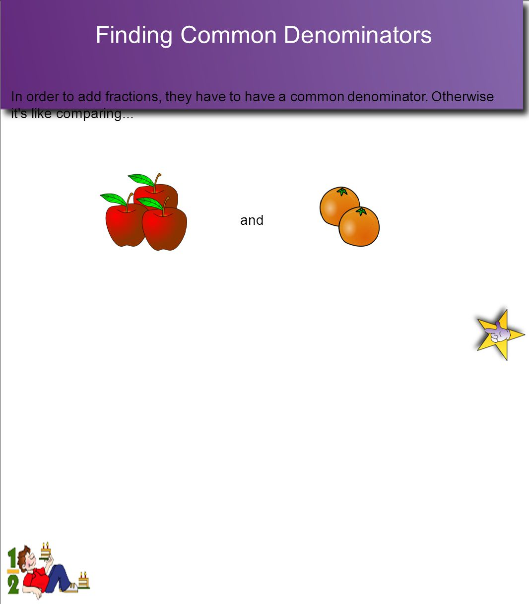 Finding Common Denominators
