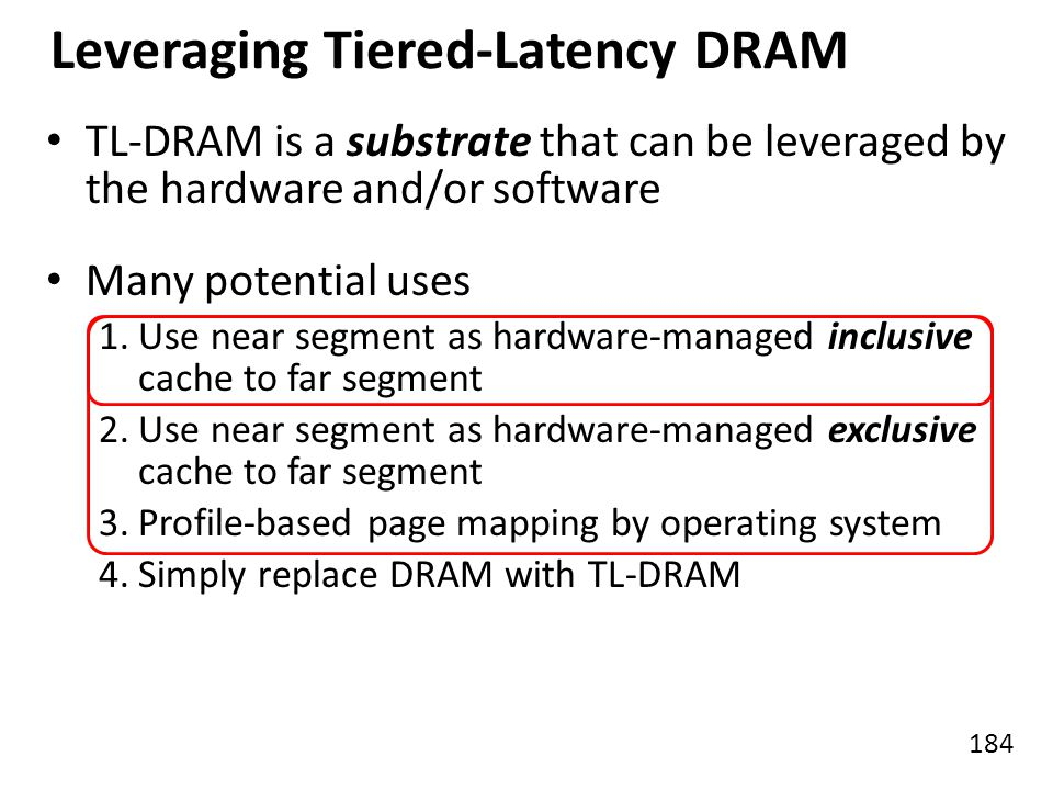 Leveraging Tiered-Latency DRAM