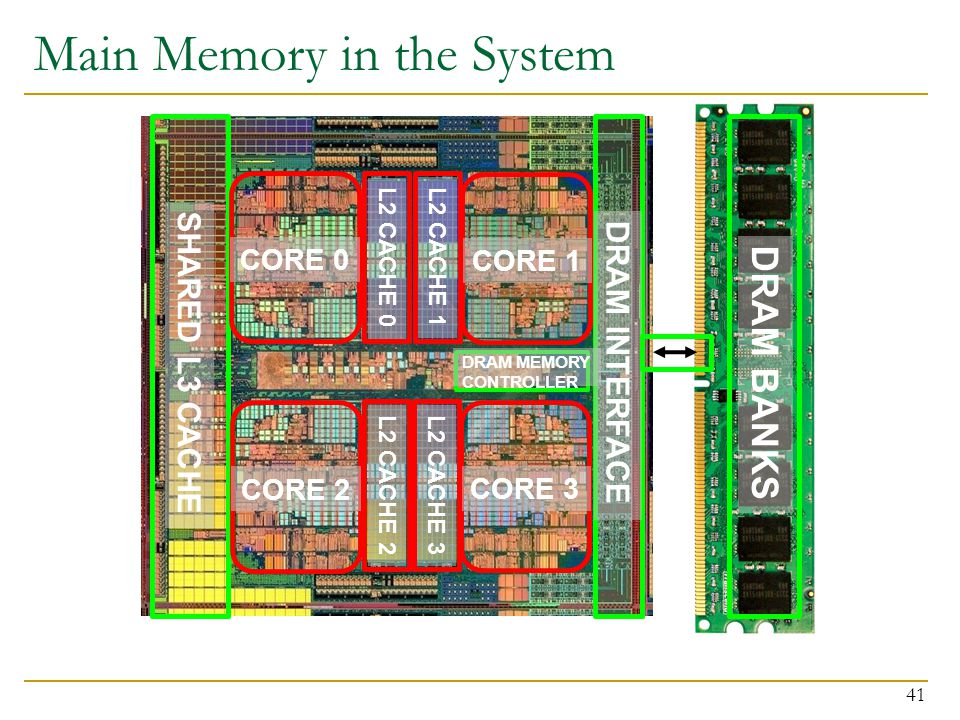 Main Memory in the System