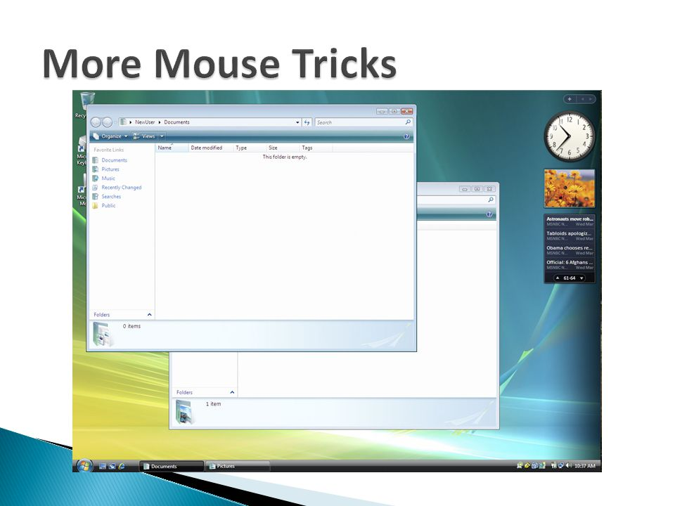 More Mouse Tricks