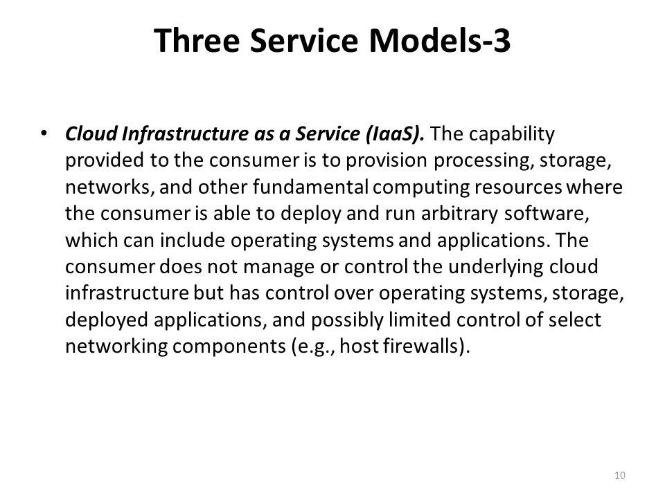 Three Service Models-3