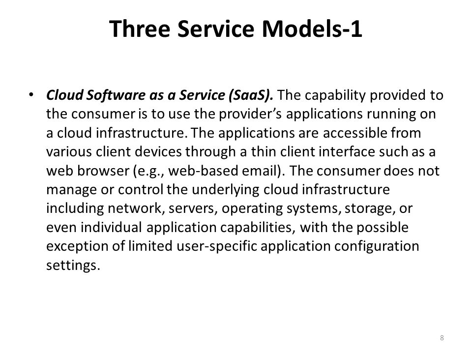 Three Service Models-1