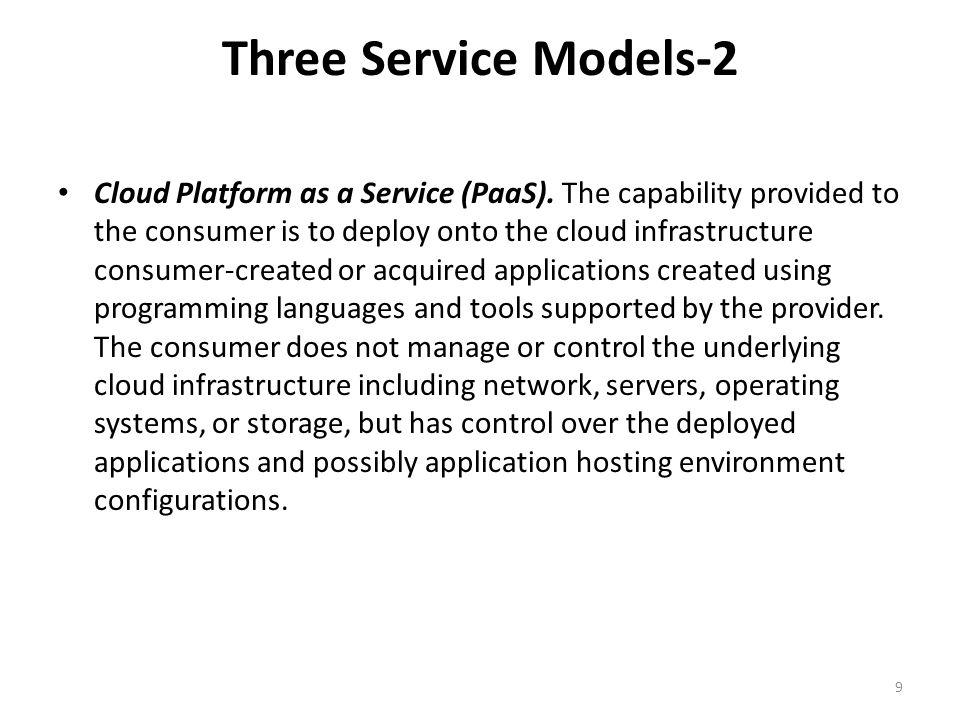 Three Service Models-2