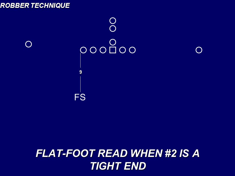 FLAT-FOOT READ WHEN #2 IS A TIGHT END